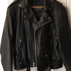 Wilsons Leather Jackets & Coats - Wilson Leather Motorcycle Jacket